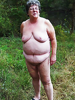 Completely naked nudist BBW grandmothers - Chubby Naturists